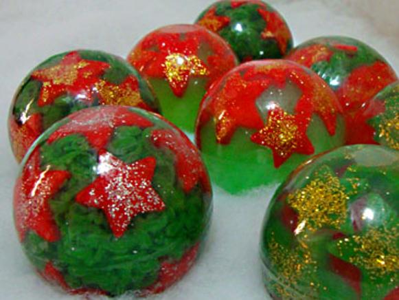 Sabonete Artesanal de Natal. (Foto Ilustrativa)