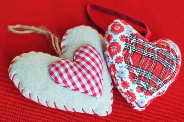 Chaveiro de coração para quem gosta de costurar (Foto: Divulgação)