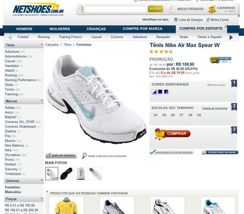 Empresa vende diversas marcas pela internet (Foto: Divulgação)