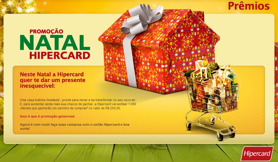 Promoção de Natal Hipercard (Foto: Divulgação)