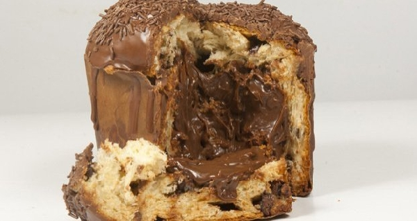 Panetone Trufado com Chocolate ao leite (Foto: Divulgação)