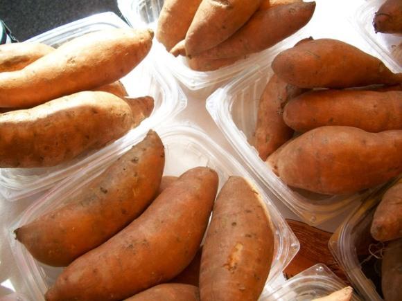 A batata doce ajuda a emagrecer e a definir os músculos. (Foto Ilustrativa)