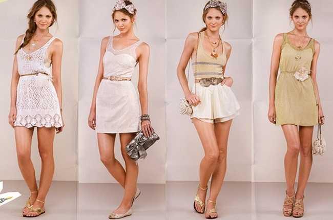 Num estilo mais verão, saias e blusinhas mais curtas (Foto: Divulgação)