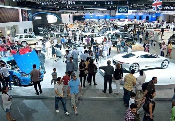 Salão de Dubai 2015 os melhores carros, fotos. (Foto Ilustrativa)