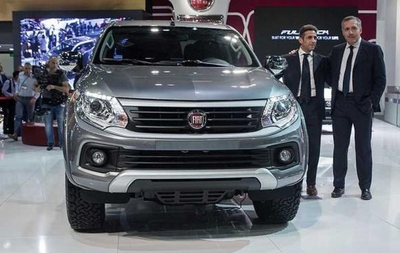 Fiat Fullback.