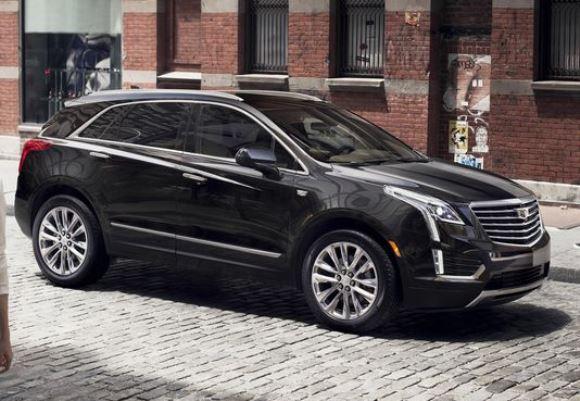 Cadillac XT5.