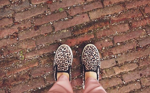 Slipons de leopardo. (Foto Ilustrativa)