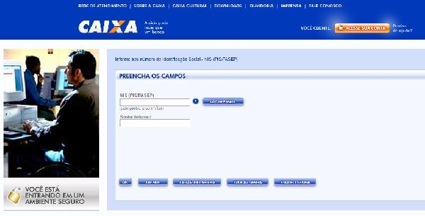 Através do site da Caixa é possível acompanhar o seguro desemprego (Foto: Divulgação Caixa)