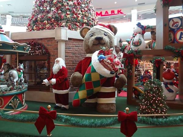 Shoppings decorados para o Natal fotos (Foto: Divulgação Shopping Iguatemi)