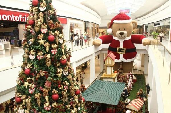 A magia do Natal contagia a todos (Foto: Divulgação Shopping Iguatemi)