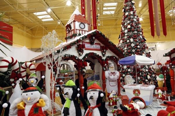 Natal na neve (Foto: Divulgação Shopping Center Norte)