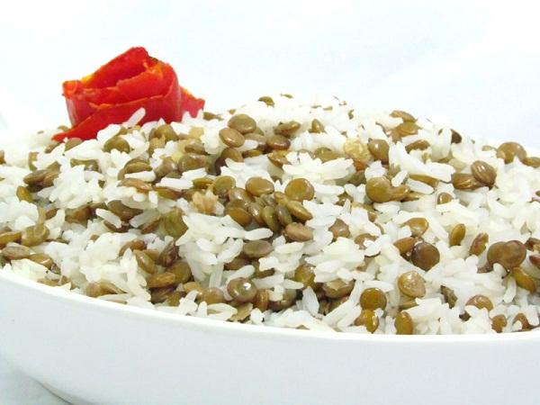 Arroz pode ser misturado com a lentilha (Foto: Divulgação)