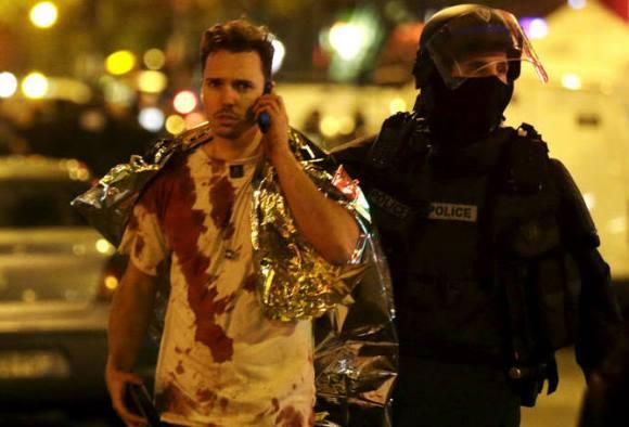 Vídeo mostra ataque terrorista em Paris