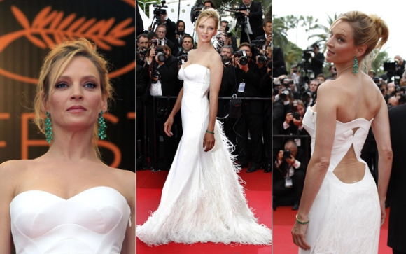 O vestido longo valoriza o corpo da mulher alta. (Foto Ilustrativa)
