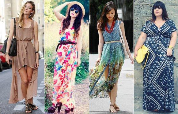 Vestidos longos para mulheres altas, dicas e fotos