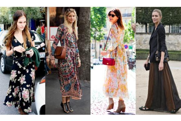 Vestidos longos para mulheres altas, dicas e fotos 6