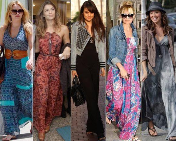 Vestidos longos para mulheres altas, dicas e fotos 8
