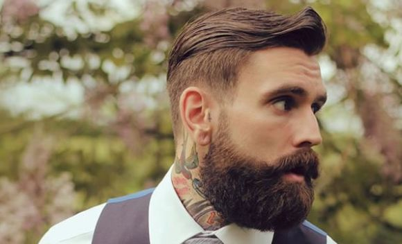 Barba cheia (Foto Ilustrativa)