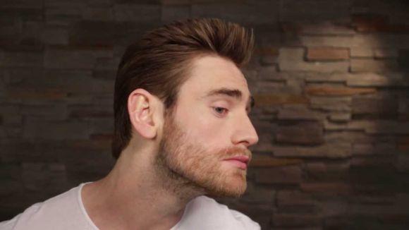 Barba sombreada (Foto Ilustrativa)