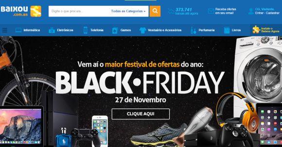 Diversos sites vão fazer o monitoramento de preços da Black Friday 2015 (Foto Ilustrativa)