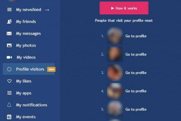 "A novidade pode ser conferida no menu ""Profile visitors"" (Foto Ilustrativa)"