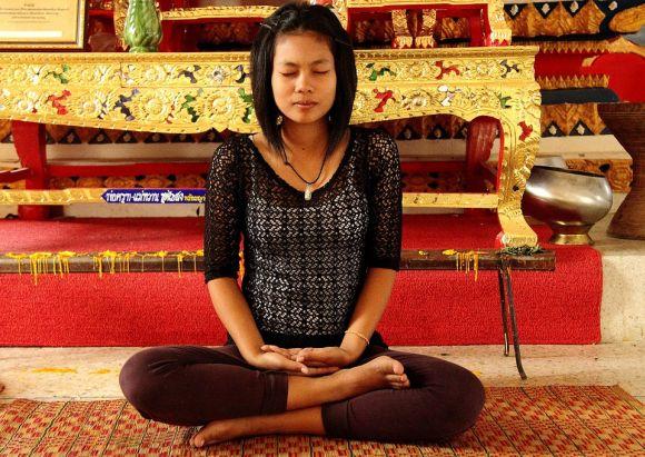 Um dos melhores momentos é a meditação, para você ficar bem relax (Foto Ilustrativa)