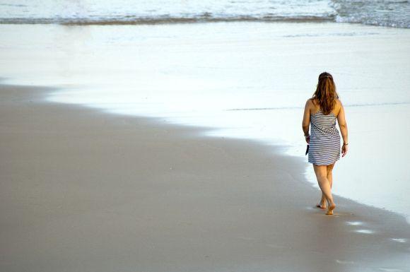 Fazer caminhadas diariamente é ótimo para perder peso (Foto Ilustrativa)