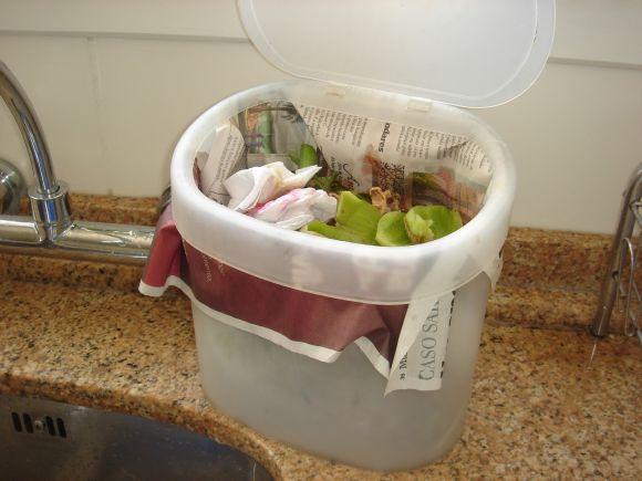 Como limpar a lixeira da pia e tirar o cheiro ruim dela (Foto Ilustrativa)