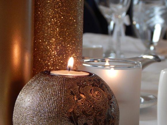 As velas aromáticas não costumam faltar nas ceias de natal (Foto Ilustrativa)