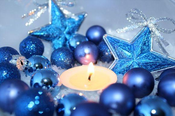 Decoração natalina com produtos aromáticos