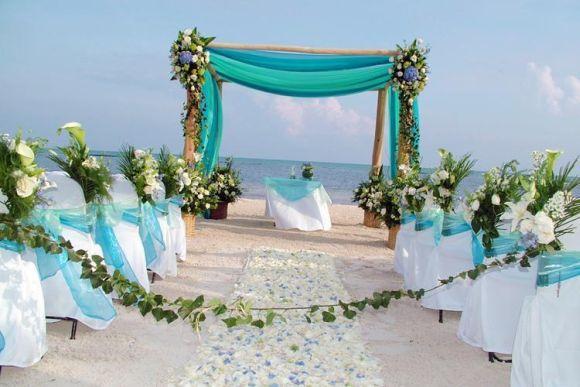 Decoração para casamentos na praia, tendências 2016 (Foto Ilustrativa)