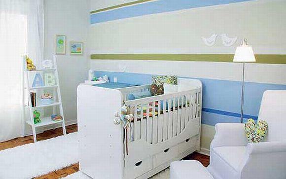 decoracao alternativa e barata para quarto:Decoração para quarto de bebê simples e barata