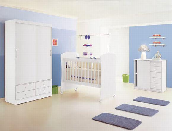 Decoração para quarto de bebê simples e barata