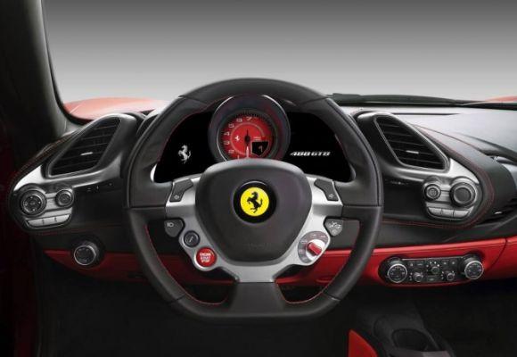 O câmbio é automático de 7 marchas e dupla embreagem (Foto: Reprodução Ferrari)