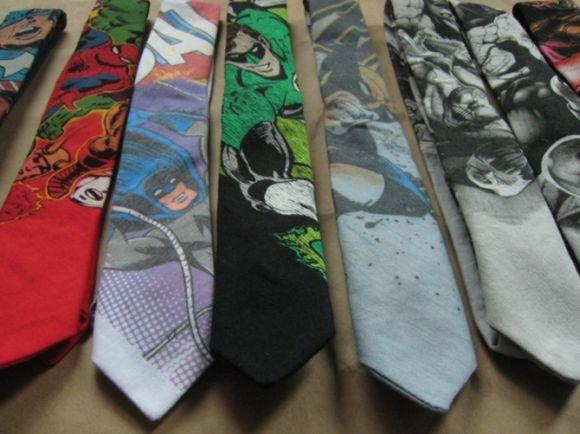 Se você quiser ousar mais, existem diversos modelos de gravatas com estampas diferenciadas (Foto Ilustrativa)
