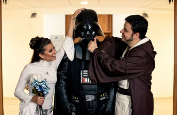 O casamento Jedi será uma das atrações do evento (Foto Ilustrativa)