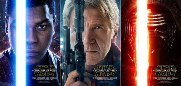O novo filme Star Wars - O Despertar da Força chega aos cinemas em dezembro (Foto Ilustrativa)
