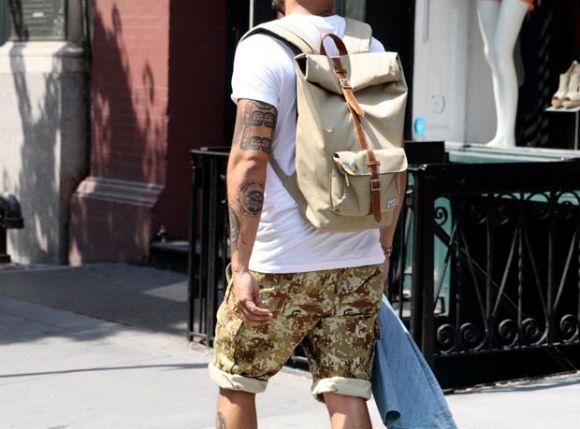As mochilas ajudam a compor um look moderno e elegante (Foto Ilustrativa)
