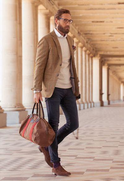 As bolsas masculinas têm feito grande sucesso (Foto Ilustrativa)