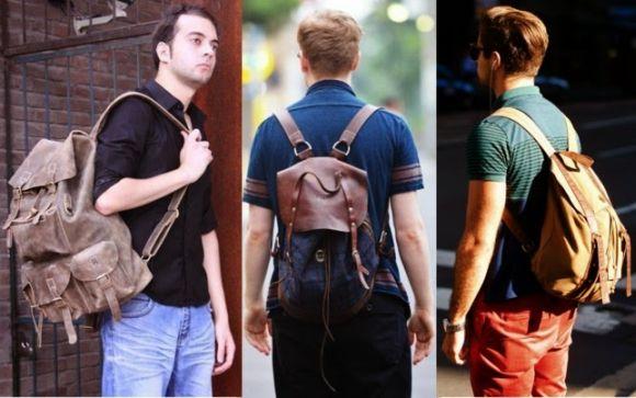 Mochilas e bolsas masculinas 2016 (Foto Ilustrativa)