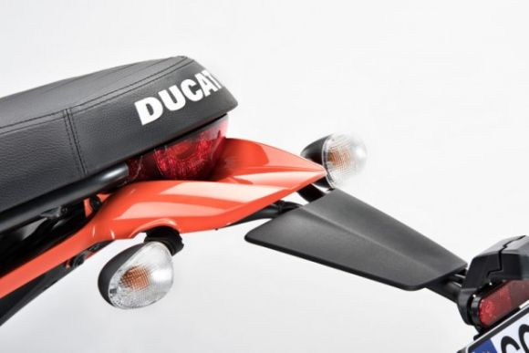 Detalhe diferenciado na traseira (Foto: Reprodução Ducati)