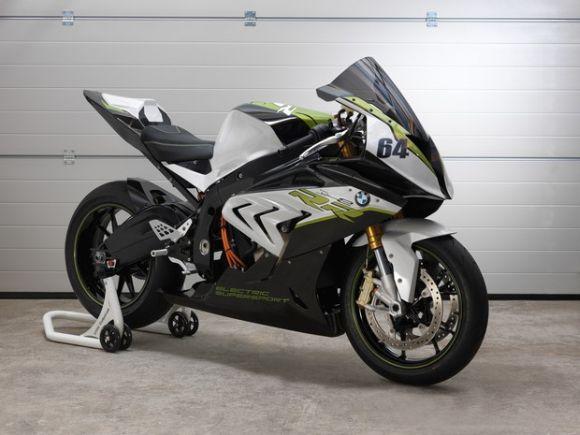 Moto esportiva elétrica BMW eRR (Foto Ilustrativa)