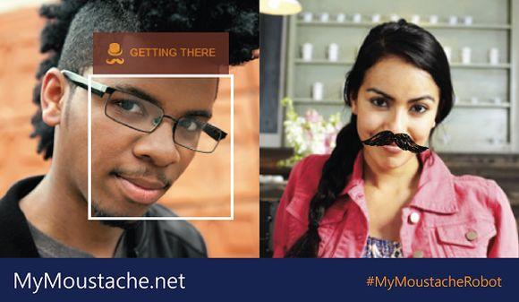 Site da Microsoft que mede seu bigode (Foto Ilustrativa)