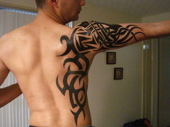 As tattoos tribais fazem sucesso tanto com os homens quanto com as mulheres (Foto Ilustrativa)