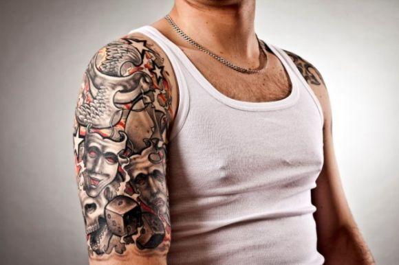 Tatuagem no ombro (Foto Ilustrativa)