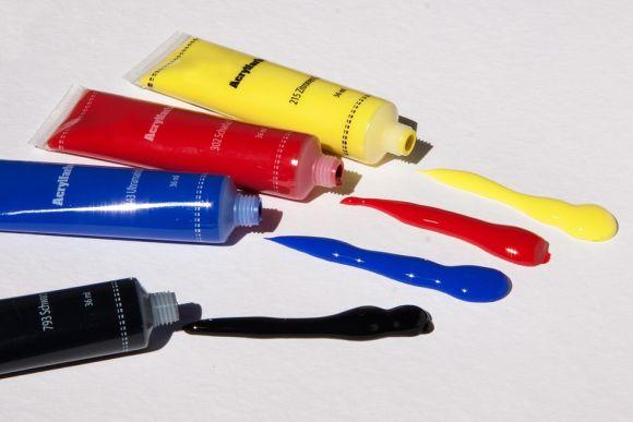 Faça uma mistura de cores na parede (Foto Ilustrativa)