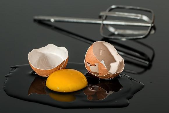 Os ovos fazem o organismo produzir gases em excesso. (Foto Ilustrativa)