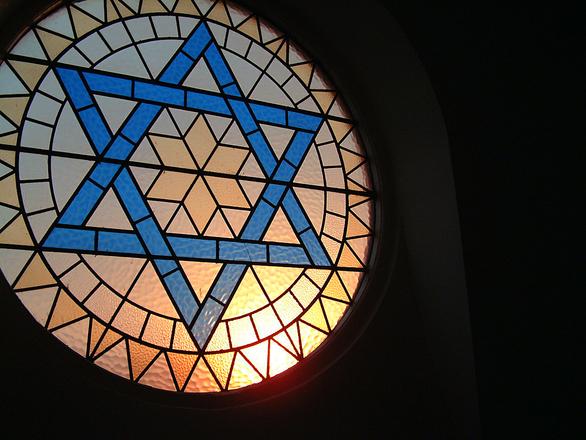 A famosa estrela de 6 pontos, símbolo de religiosidade (Foto: Divulgação)