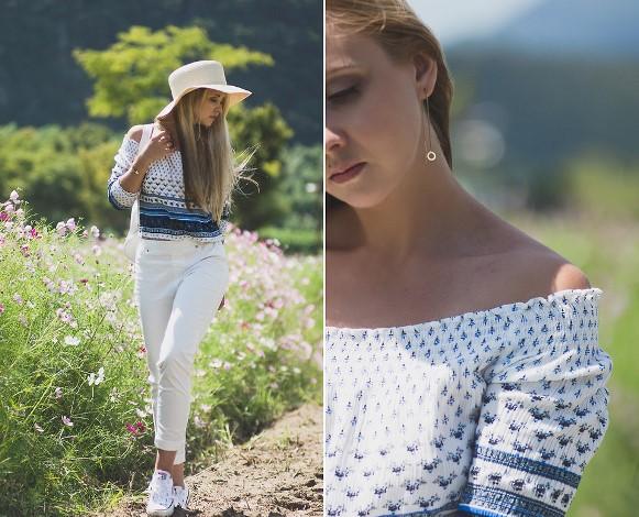 Blusas ciganinhas 2016, modelos e looks. (Foto Ilustrativa)