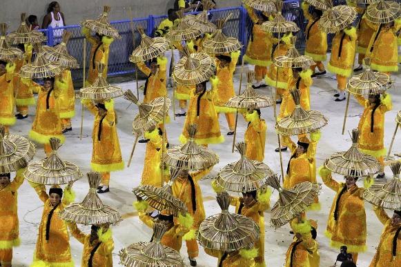As principais escolas de samba desfilam em São Paulo e Rio de Janeiro. (Foto Ilustrativa)